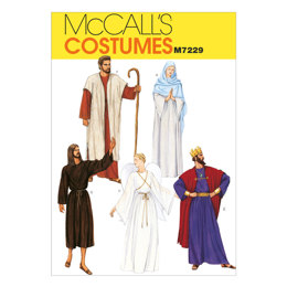 McCall's Christmas Robe Costumes M7229 - Sewing Pattern