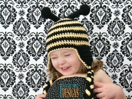 Busy Bee Bumblebee Hat