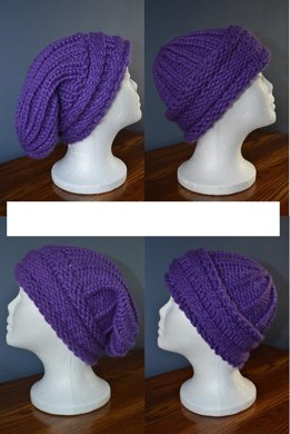 Reversible Slouch/Beanie