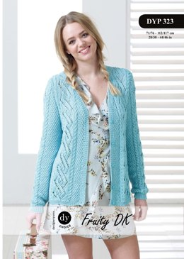Cardigan in DY Choice Fruity DK - DYP323