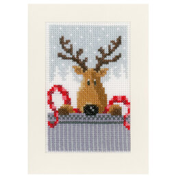 Vervaco Christmas Buddies (Greetings Cards) Pack of 3 Cross Stitch Kit