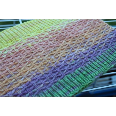 Lattice One Skein Cowl Knitting Pattern By Notenoughneedles