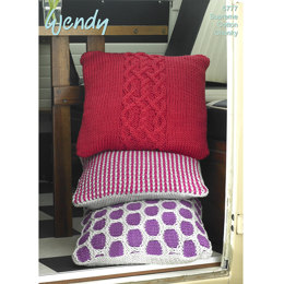 Cushions in Wendy Supreme Cotton Chunky - 5777
