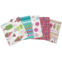 Visage Textiles Ice Lolly Fat Quarter Bundle - Multi
