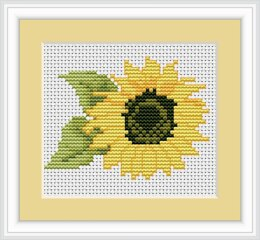 Luca-S Floral Mini Cross Stitch Kits