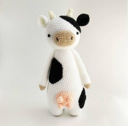 Cow with Udders Crochet Amigurumi Pattern