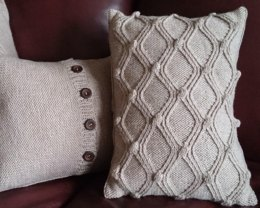 Diamonds & Bobbles Cushion Cover