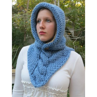 Maid Marian Bandana Cowl Two Knitting Pattern By Grace Rose