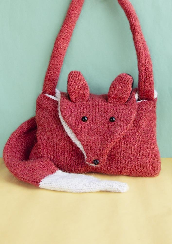 Fantastic Fox Bag Knitting pattern by Louise Walker Knitting Patterns Lov...