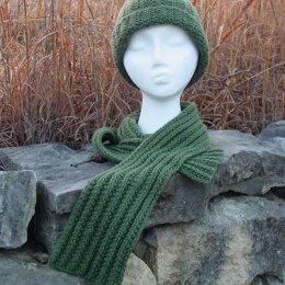 Mistaken Rib Hat and Scarf