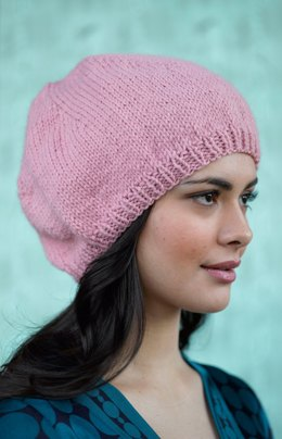 Simply Stockinette Hat in Lion Brand Wool-Ease - 90621AD