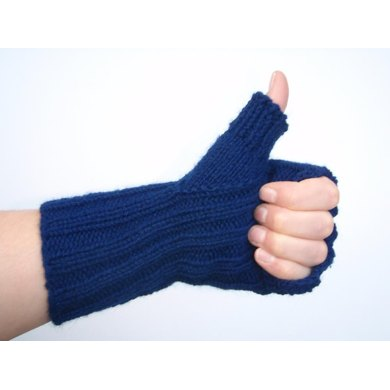 Thumbs up mitts