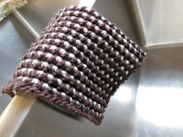 Bi-Colour Sand Stitch Dish Cloth