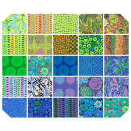 """Kaffe Fassett Collective 10"""" Squares - Cool"""