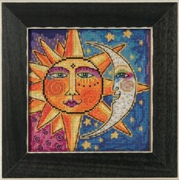 Mill Hill Sister Sun & Brother Moon Cross Stitch Kit