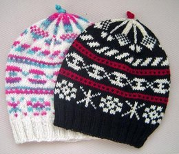 Alpine Fair Isle Hat