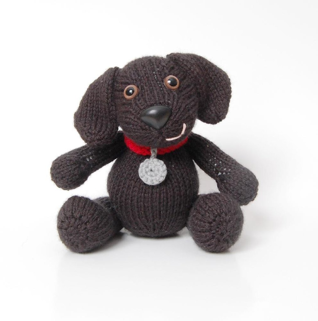Lucy the labrador knitting pattern by penny connor knitting zoom bankloansurffo Gallery