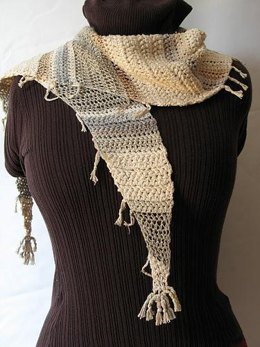 Crochet Version of Baktus Scarf