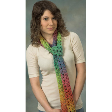 Scarf A in Plymouth Kudo - F393
