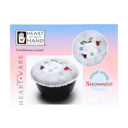 Heart in Hand Pocket Round: Snowman - HH465 -  Leaflet