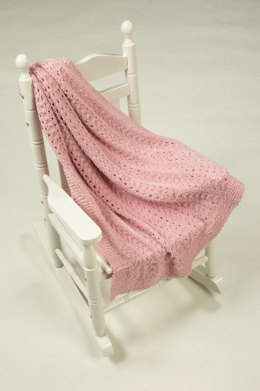 Baby Blanket in Plymouth Yarn Daisy - 2335
