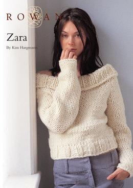 Zara Jumper in Rowan Big Wool