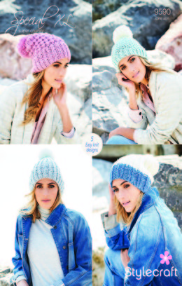 Hats in Stylecraft Special Super Chunky - 9590 - Downloadable PDF
