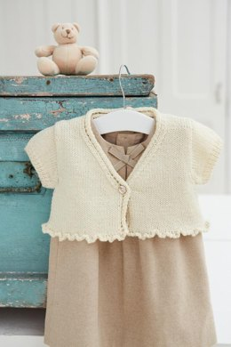 Frilly cardigan
