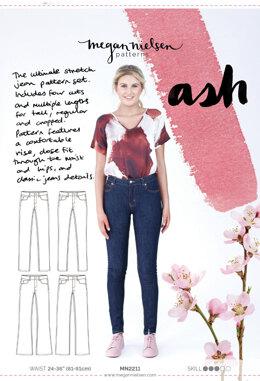 Megan Nielsen Ash Trousers MN2211 - Sewing Pattern
