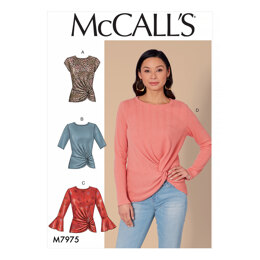 McCall's Misses' Tops M7975 - Sewing Pattern