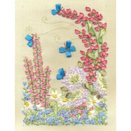 PANNA Flowers Ribbon Embroidery Kit - PAN-0997-C