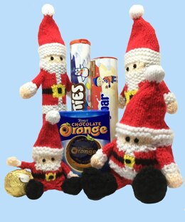 Santa chocolate gift bags/ toy: all sizes