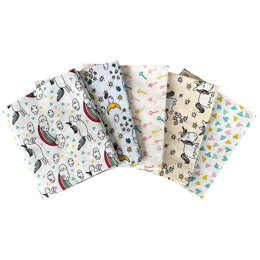 Craft Cotton Company Magical Unicorn Fat Quarter Bundle