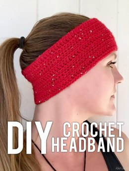Sparkle Motion Crochet Headband