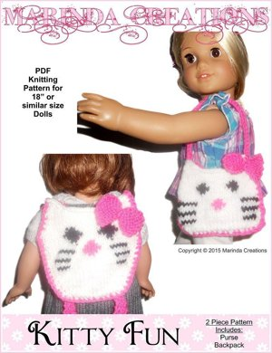 Kitty Fun for AG and 18'' Dolls