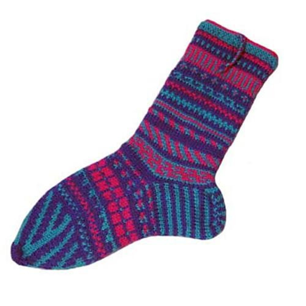 One world turkish style socks knitting pattern by colorjoy by zoom bankloansurffo Gallery