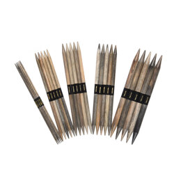Lykke Driftwood 6in Double Point Needles 15cm (Set of 5)