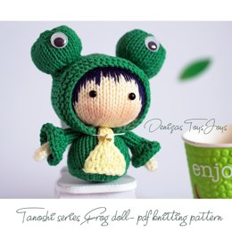Frog doll