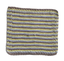 Shell Beach Washcloth in Lion Brand Cotton-Ease - 90393AD