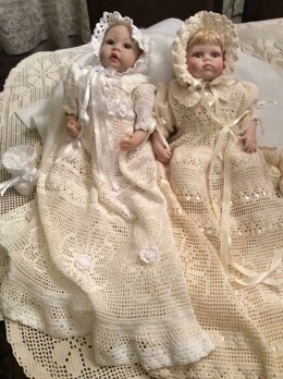 Baby Erika christening outfit