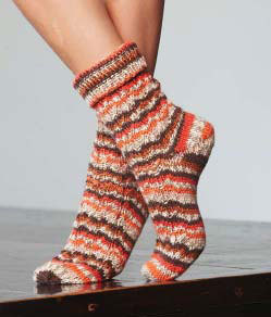 Socks in Regia Zima Color 8-Ply - R0079