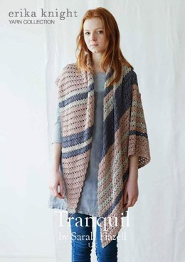 Tranquil Shawl in Erika Knight Studio Linen