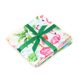 Craft Cotton Company Flamingo Resort Fat Quarter Bundle