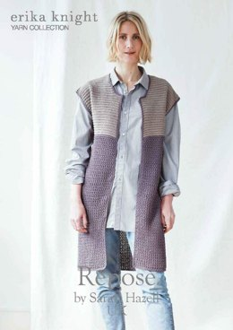 Repose Gilet in Erika Knight Studio Linen