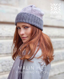 Malin Hat in MillaMia Naturally Soft Aran