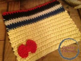 Snow White Minimal Dishcloth