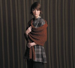 Sean Scarf and Wrap in Rowan Lima