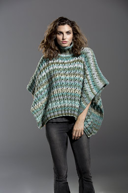 Hidden Treasure Poncho in Universal Yarn Major - Downloadable PDF