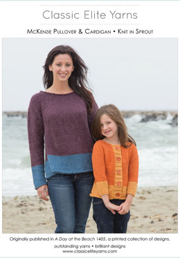 McKenzie Pullover in Classic Elite Yarns Sprout - Downloadable PDF