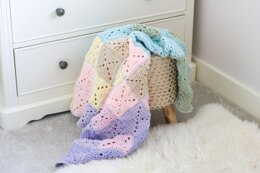 Spring Abstract Blanket